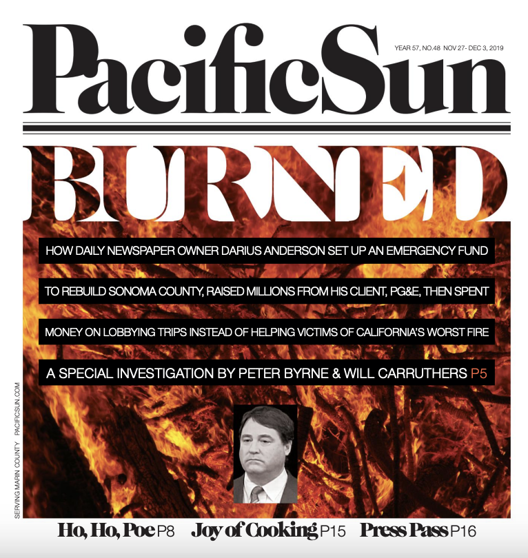 Pacific Sun newspaper alt weekly in marin county