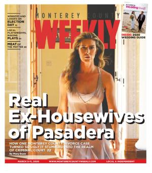 Monterey County Weekly cover - Real Ex Housewives of Pasadera